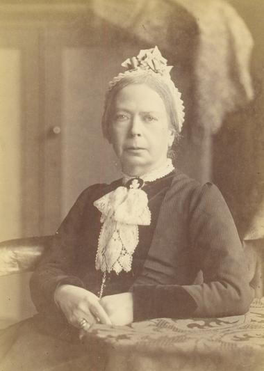 Headmistress Frances Buss in 1882
