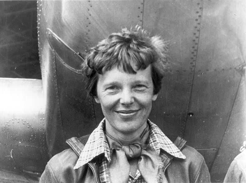 Amelia Earhart female aviator
